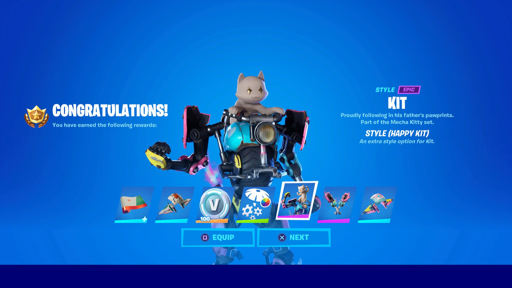 Liz And Koala On Twitter Kit Happy Style In Fortnite Kitten Cat Fortnitechapter2season3 Fortnitechapter2 Fortniteseason3 Ps4share