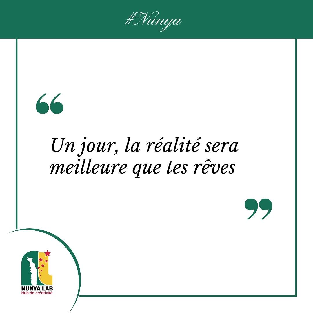 Cher(e)s entrepreneur(e)s, ne baissez pas les bras. Donnez le meilleur de vous même et sachez que rien n'est impossible. Vous avez les compétences, donnez vous les moyens de réussir !  #mercreditalk #nunya #citation #nunyalab #faiej #pnud #togo #entrepreneurs https://t.co/srREdpjcD3