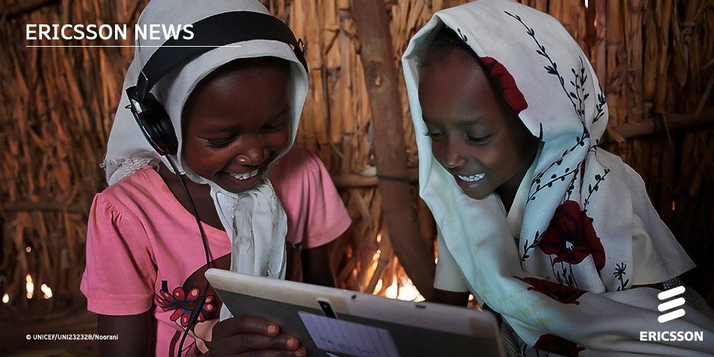 Ericsson и ЮНИСЕФ заключают глобальное партнерство!  Их цель — подключить к интернету все школы в 35 странах к концу 2023 года. https://t.co/IiOPZwK1Iq https://t.co/2t56wSzEVB