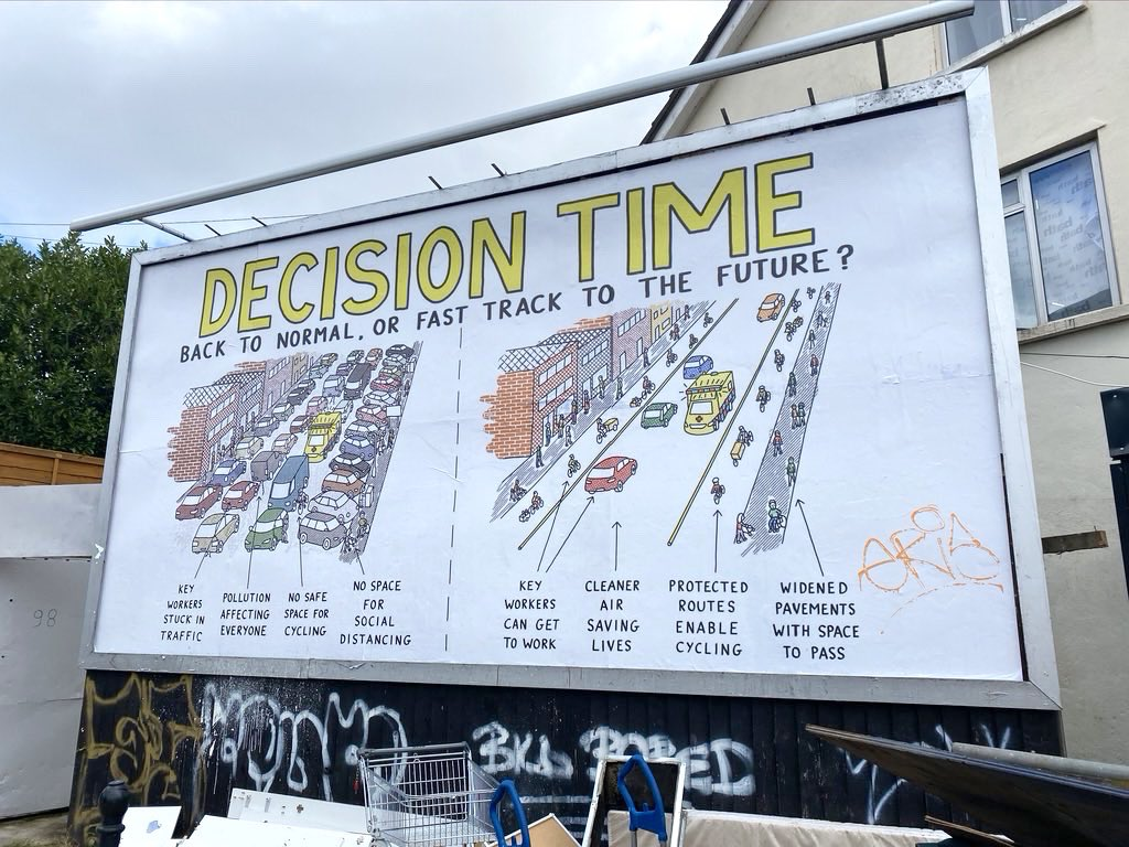 Diagram billboard in Bristol (James St / Mina Rd). Not my doing, but with permission. https://t.co/4ppAACOCji