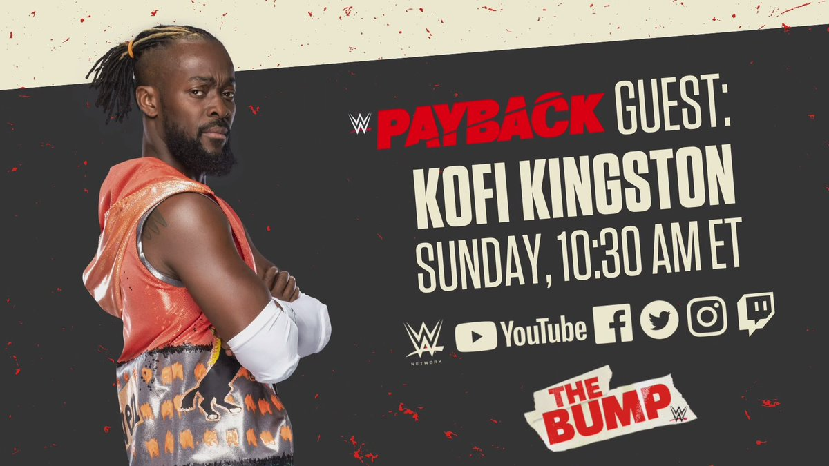 Booker T, Kofi Kingston, & More Announced For Special Edition Of WWE's The Bump