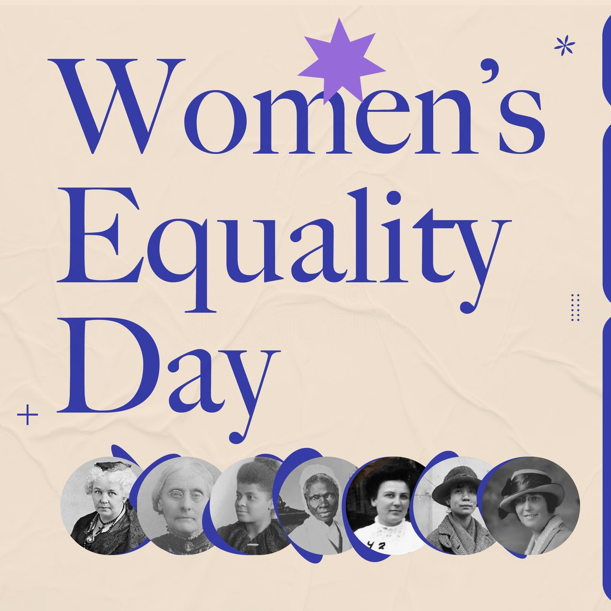 Meet the #WomensEqualityDay trailblazers who inspire us.  Today, as the inequalities they fought so diligently for still persist, we carry on with their legacy and progress through the power of our votes.  https://t.co/UaNmD22kx6 #NormalizeEquality https://t.co/2tq894nvMX
