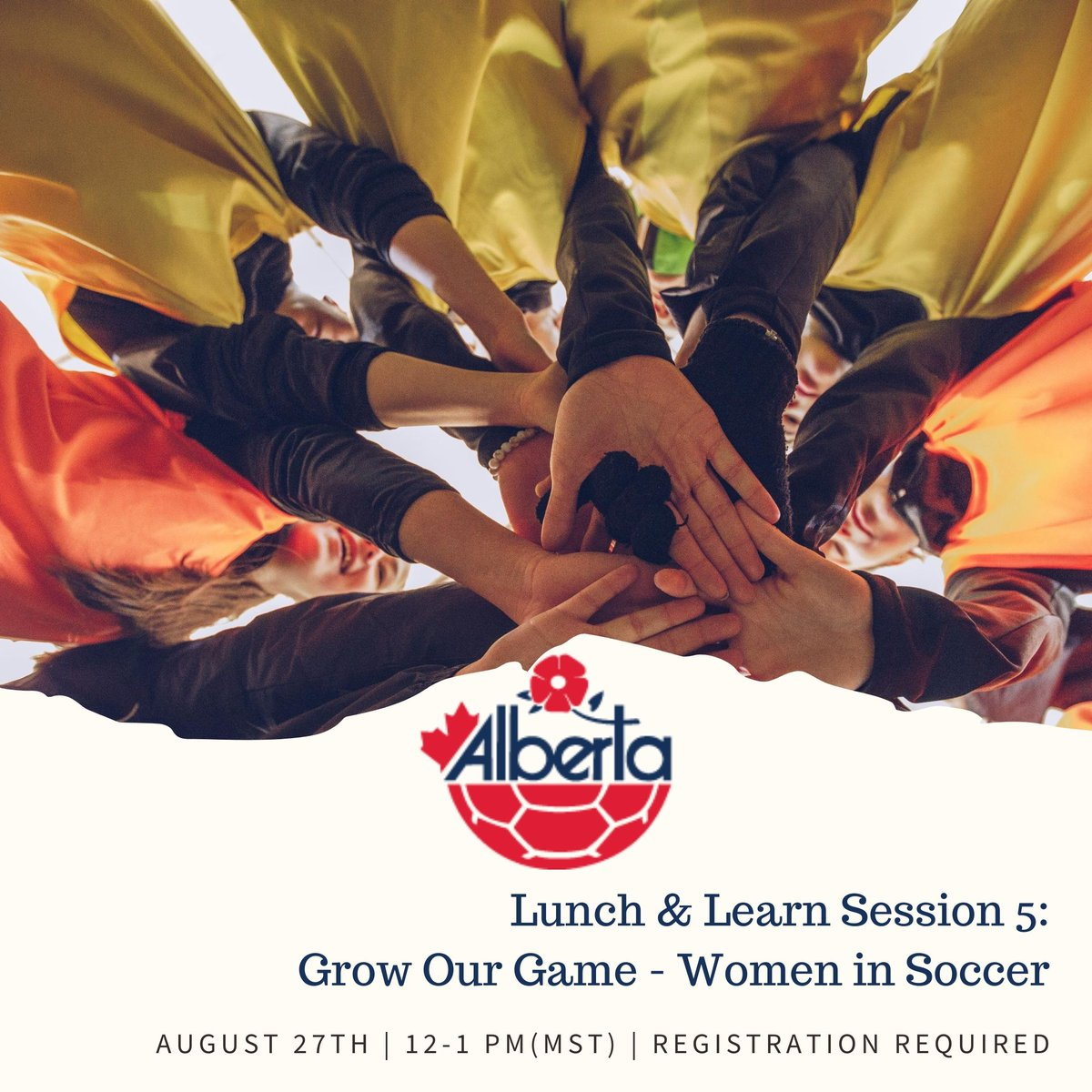 You are invited to join our technical team this Thursday (12-1pm MST) for their final Lunch & Learn of the Summer.  Matt Thomas will be chatting with Katie Collar on how to grow the womens game. Go to the link to register  https://t.co/W2zVUlfeJf https://t.co/bswl6lyxlP