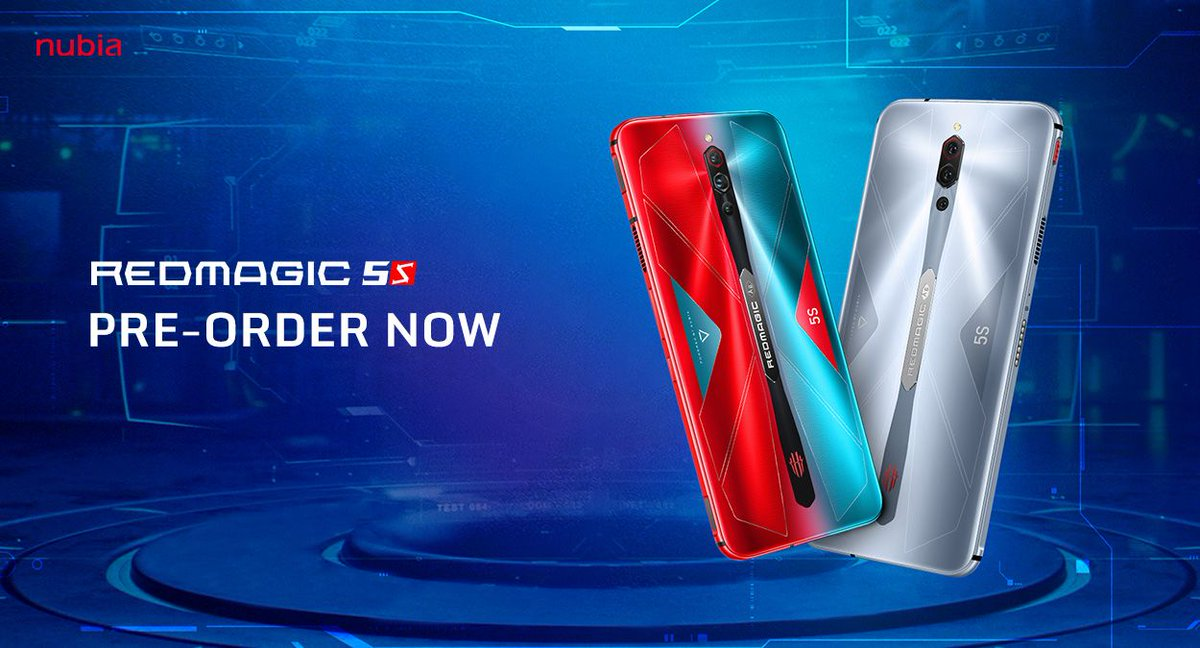 Pre-order the coolest phone of the year, the RedMagic 5S! https://t.co/tQzgRQzxCT https://t.co/do6kqIlP8i