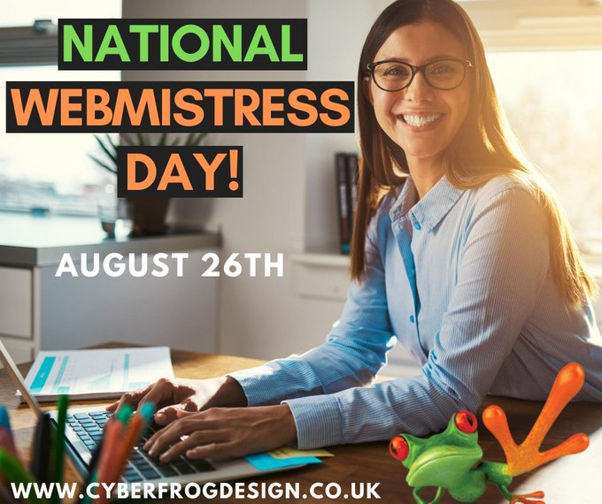 NATIONAL WEBMISTRESS DAY –26 August   IMAGES, GIF, ANIMATED GIF, WALLPAPER, STICKER FOR WHATSAPP & FACEBOOK