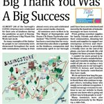 Image for the Tweet beginning: Thank you @BasingstokeNews for this