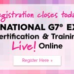 Image for the Tweet beginning: Become a G7 Certified Expert.