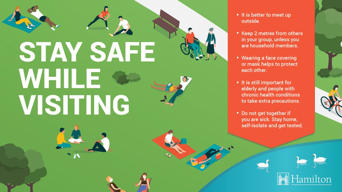 Whatever you are enjoying this weekend, remember to socialize safely. Stick with your social circle of 10, keep gatherings small, & avoid crowds. Stay 2 metres from others, wash your hands & stay home if you're unwell. https://t.co/sGVItXYLSo