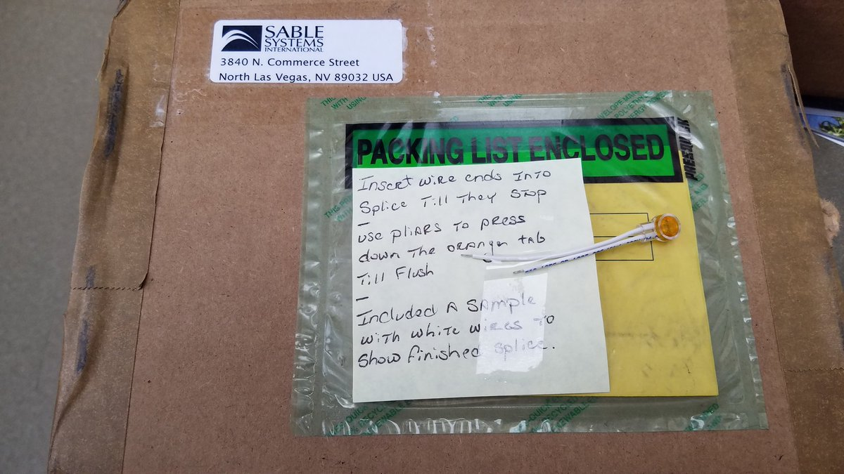 test Twitter Media - Now, that's some #CustomerService! A dumb error on my part and I fried a piece of @SableSys equipment on Friday. They shipped a custom fix, which arrived yesterday. Equipment is now working just on time for team to take it to @McMasterU #BatLab on Monday! https://t.co/Gdf12z1ROg