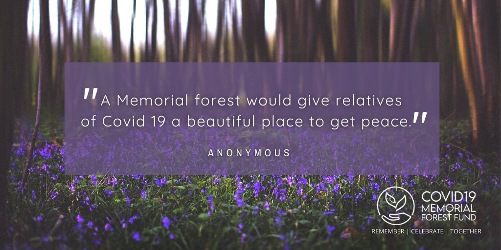 😍 What our supporters say...  Please retweet and follow our page to find out more 👍  #Covid19MemorialForestFund #Covid19Memorial #MemoryTrees #GreenRecovery #ForestOfMemories 🍂🌲 https://t.co/DuNPCkWFuA https://t.co/oN2n6LRr25