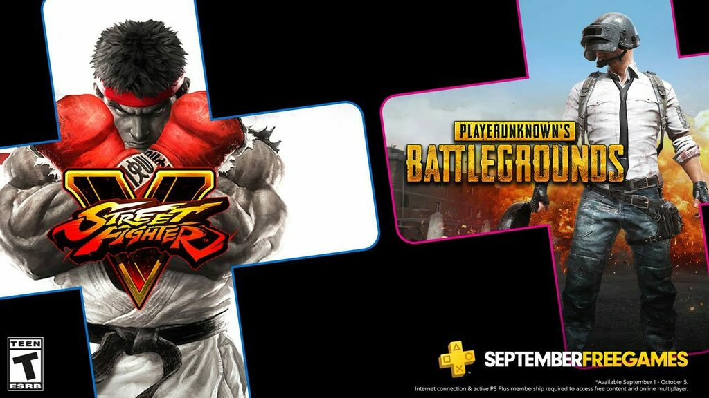 PS Plus Free Games September 2020