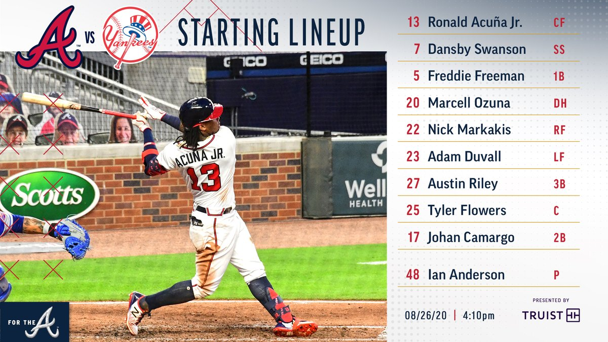 Atlanta Braves On Twitter Let S Try This Again Shall We Presented By Truistnews Forthea