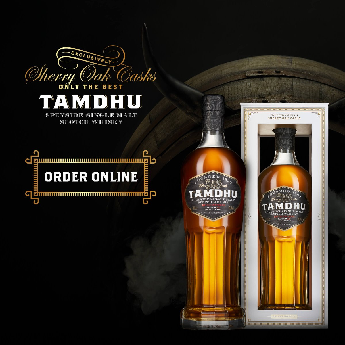 We're down to the final remaining bottles of our award-winning Tamdhu Batch Strength No 004. Order directly for free delivery.  https://t.co/dI8Y5AX8IQ https://t.co/WhJqG2FXW7