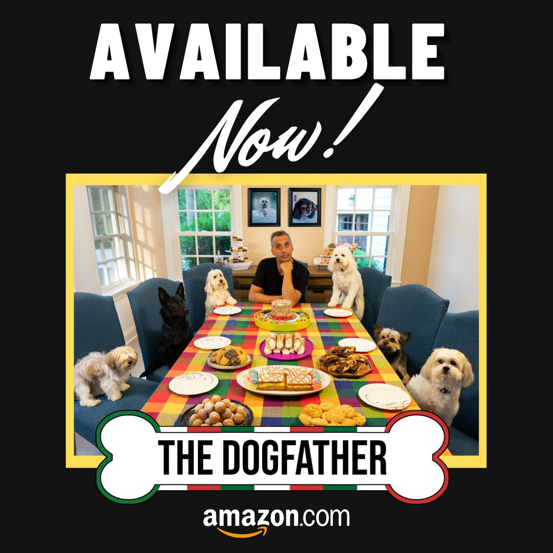 Today is #NationalDogDay and our guy @Joe_Gatto released his very first book, The Dogfather - out today!! Go check it out on @amazon at https://t.co/JyCyvYMQCN cc: @gatto_pups 🦴🐶🐾 https://t.co/iJrn5mPpIn