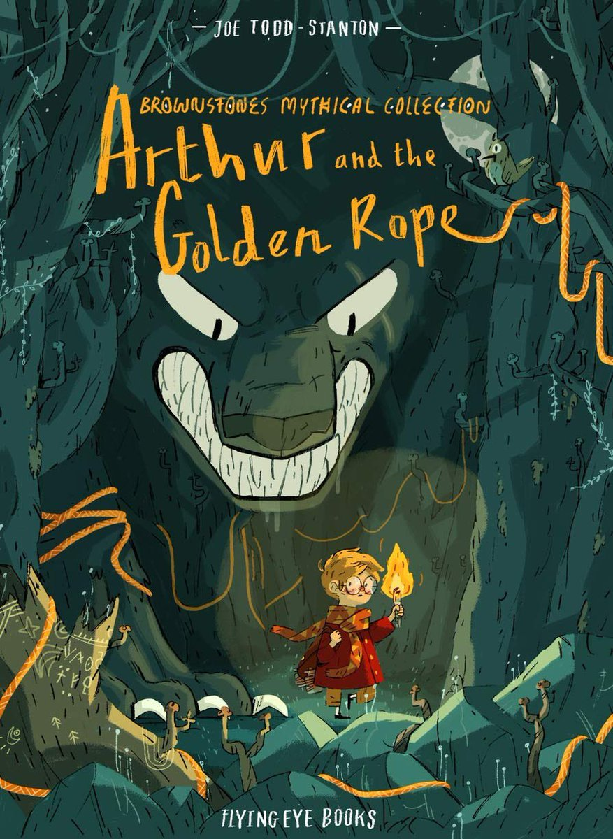@SmithMissJ Aurthur and the golden rope is a gem! So many learning opportunities and beautifully illustrated x
