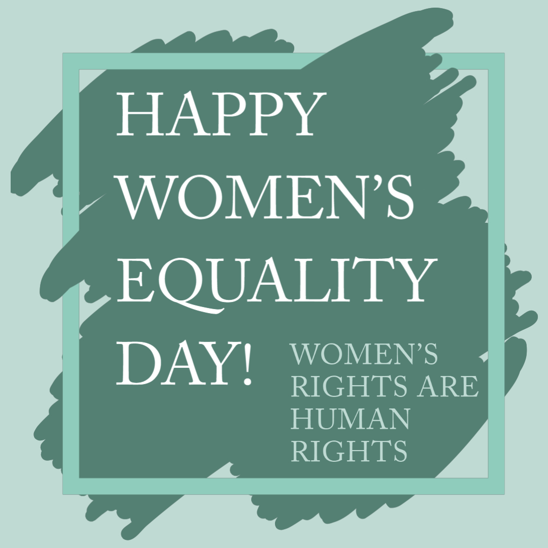 On #WomenEqualityDay Equality Day, let us celebrate 100 years since women were granted the constitutional right to vote. As we continue to fight for equity today, please remember we are all in this together.  #Walkwithwomen #NormalizeEquality #EqualityCantWait https://t.co/rrmIXIwT9g