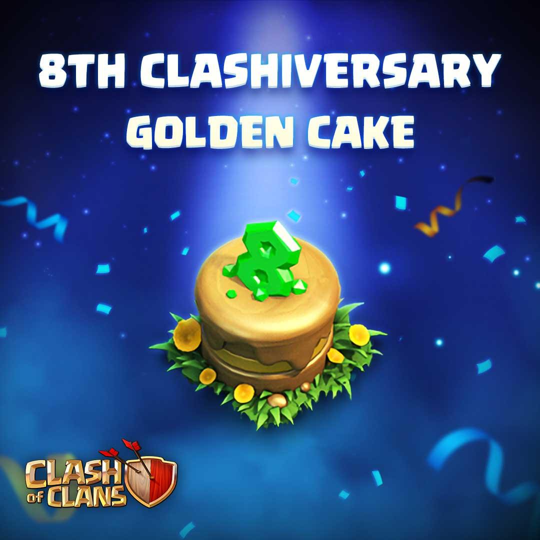 It S The 8th Clashanniversary Of Clash Of Clans Jeumobi Com