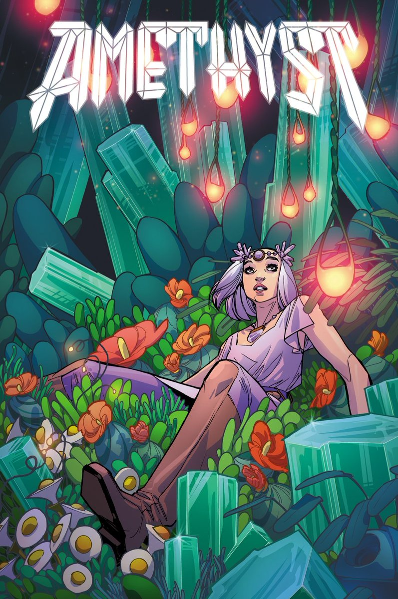 Amethyst #5 is out now! Hope it takes you for a ride. We visit Emerald, Diamond, and...well, you'll see.