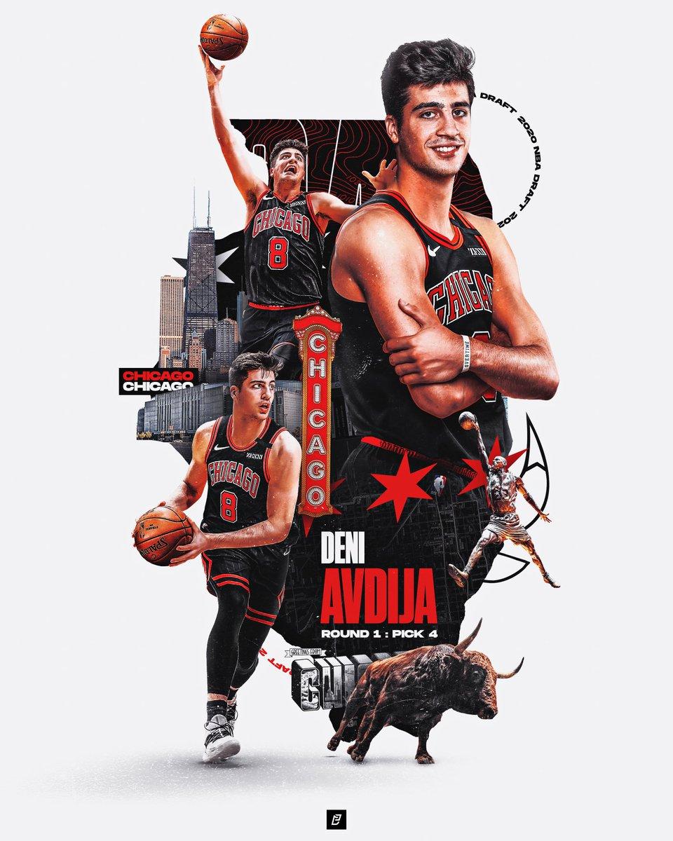 Deni Avdija x Chicago Bulls ...