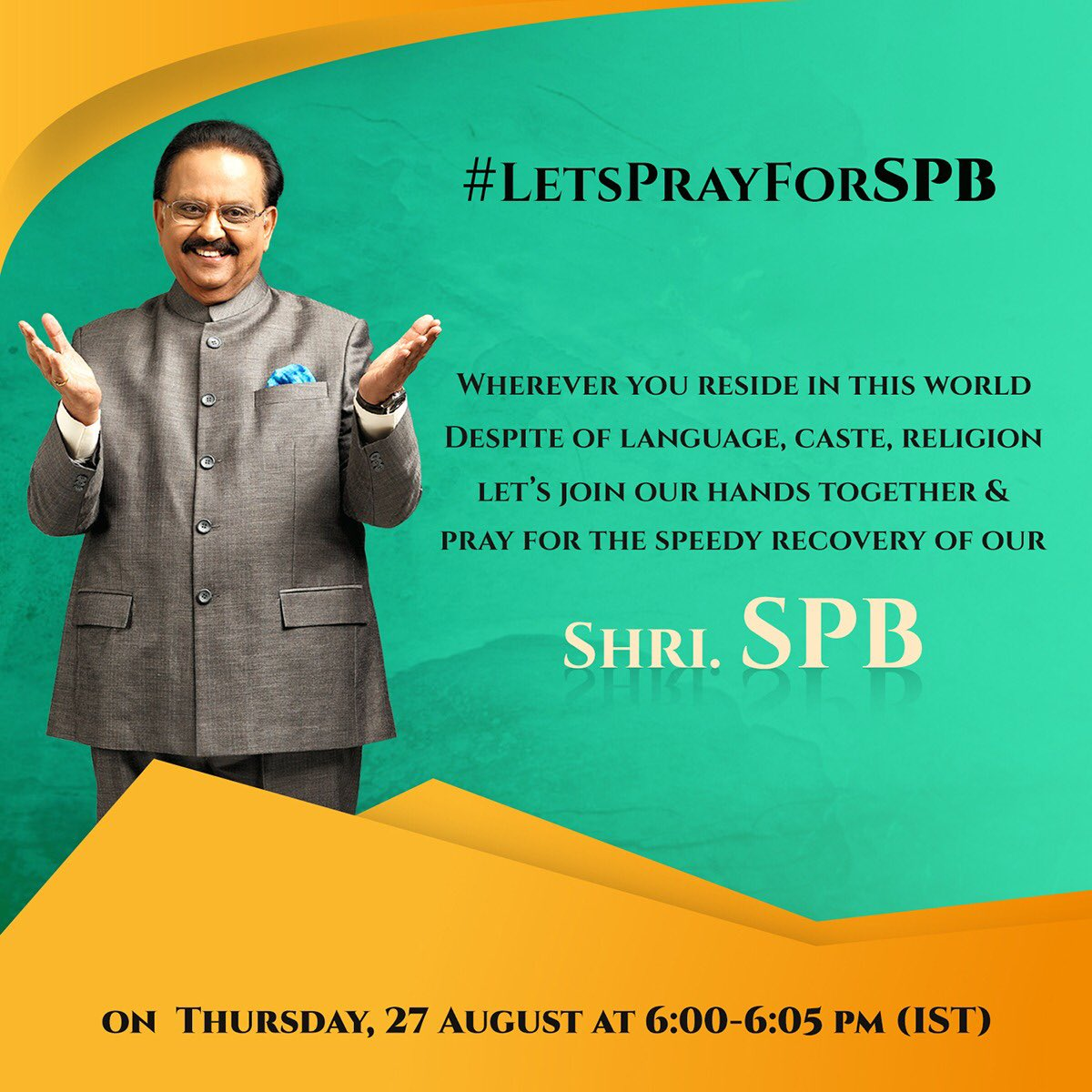 #LetsPrayForSPB  #Pray4SPB https://t.co/PiHON2G4z5