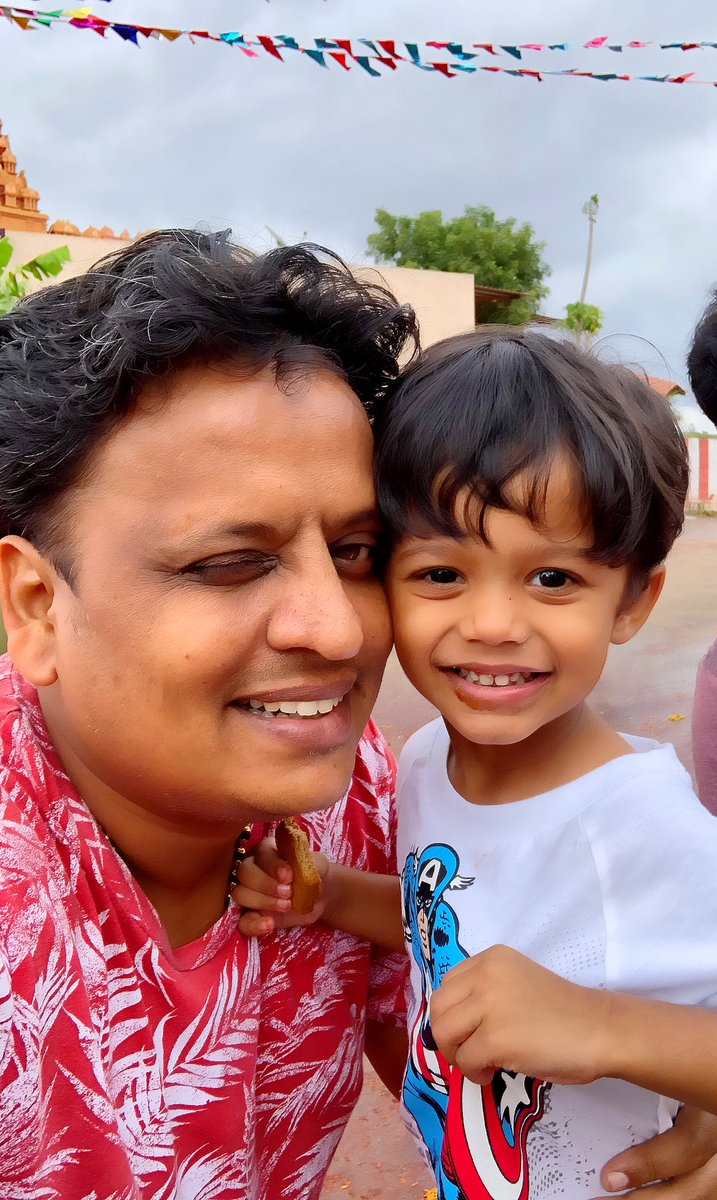 Happy birthday Junior G🌟 #Vihaan God bless you 🐯 cheers ✌🏻@Official_Ganesh @ShilpaaGanesh https://t.co/lBgNkUpE3s