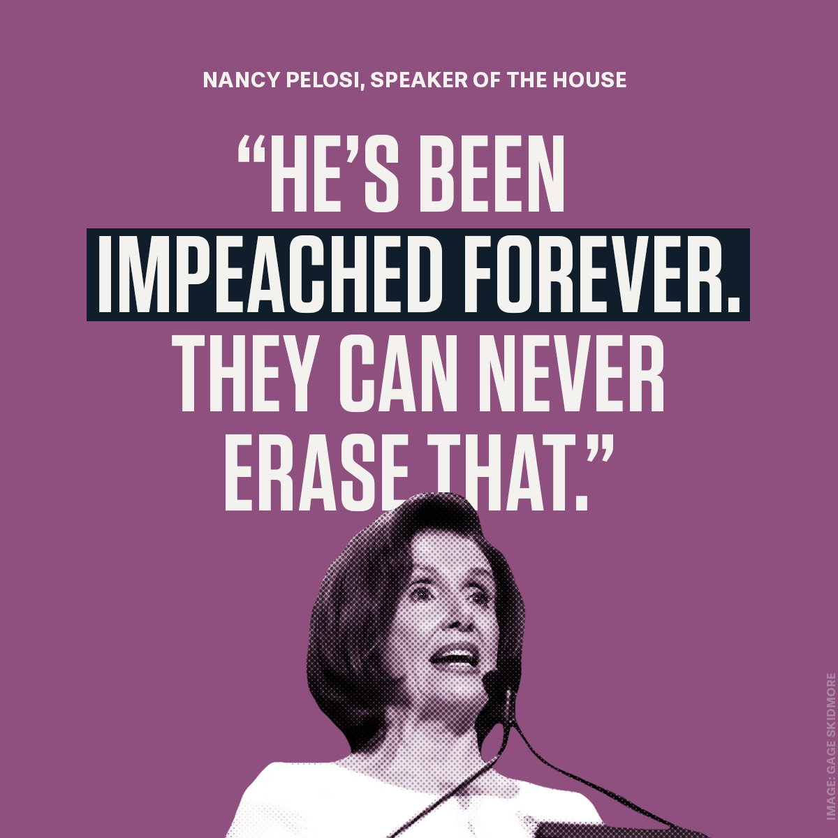Never forget: Impeachment is forever. #RNC2020