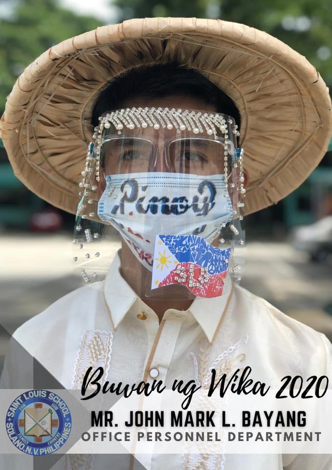 Face Shield For Buwan Ng Wika Goes Viral On Social Media