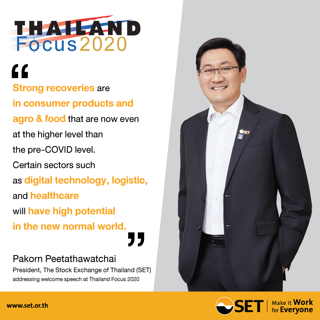 Set Thailand On Twitter As Covid 19 Pandemic Is Upending Business Set President Dr Pakorn Peetathawatchai At Thailandfocus 2020 Resiliency To Move Forward Pinpoints Industry Groups With Quick Bounce Back And Potential In