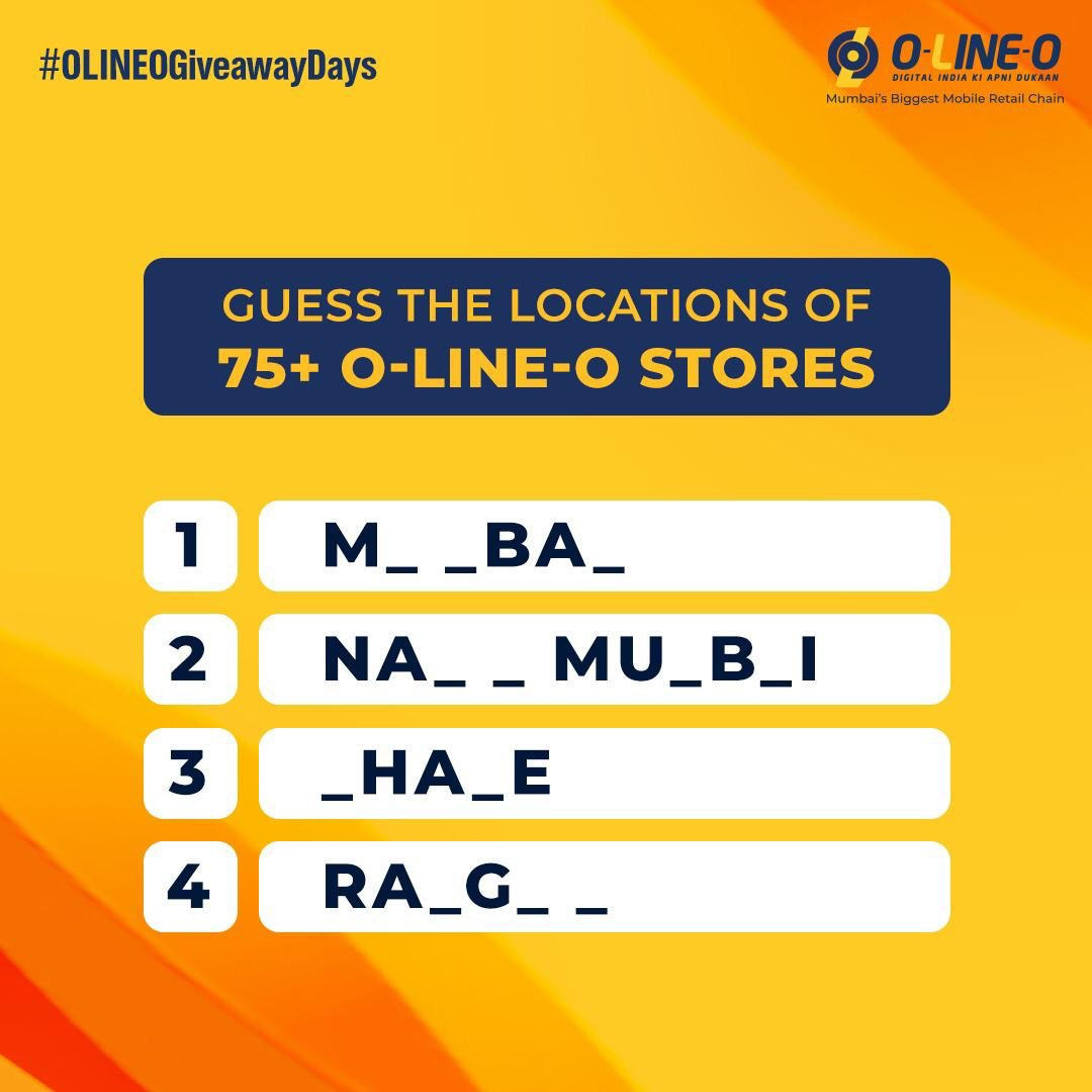 #ContestAlert  Rules:  1) Comment the right answers below with #OLINEOGiveawayDays  2) Tag 3 of your friends in the comment.  3 lucky winners stand a chance to win Realme Gadgets!  To read the TnC of the contest, click https://t.co/9HgWCj1fR2   #Contest #GiveawayAlert https://t.co/KV8moeg4TN