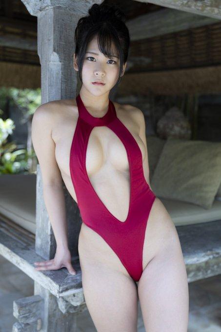 グラビアアイドル高杉杏のTwitter自撮りエロ画像34