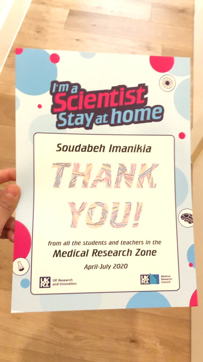 @imascientist it was a pleasure being a part of #IASStayatHome during the #lockdown & summer. Lots of passionate students in #scicomm and #STEM topics. I enjoyed it a lot & thanks for the little surprise to make it memorable. https://t.co/iZ1YTrHa5c