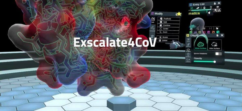 Reminder: in 1h 45m from now (18.45 CET) this session at #ESOF2020 @ESOF_eu : https://t.co/H7dm0HIBZi about The #Exscalate4CoV #project: a journey from HPC to virtual reality. How #Computer-Aided #Drug Design #techniques are supporting the fight against #SARS-#CoV-2. https://t.co/1PXPC5Gd7L
