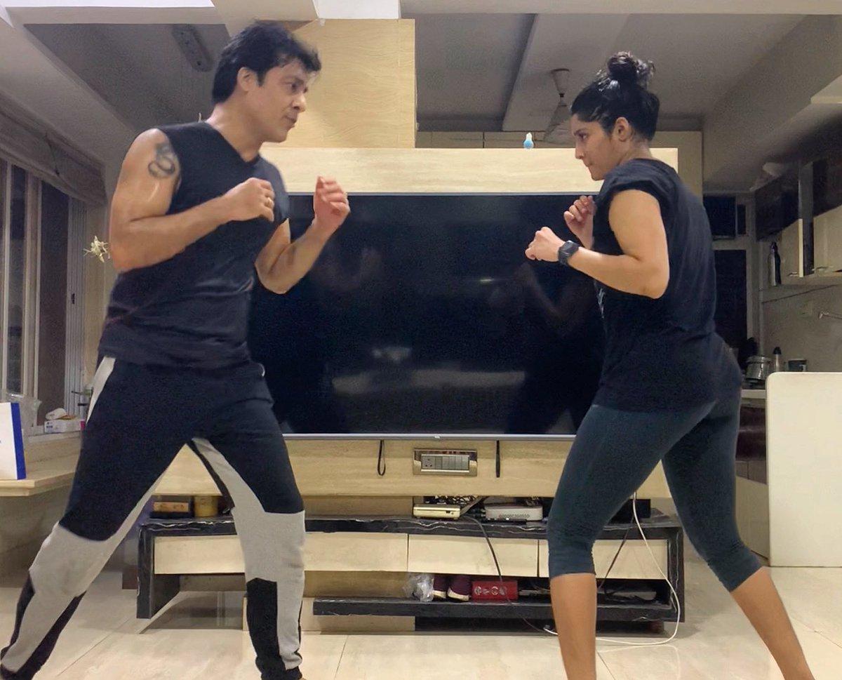 #Familytime #Kickboxing 💪🏼 https://t.co/a7O59wvpWi
