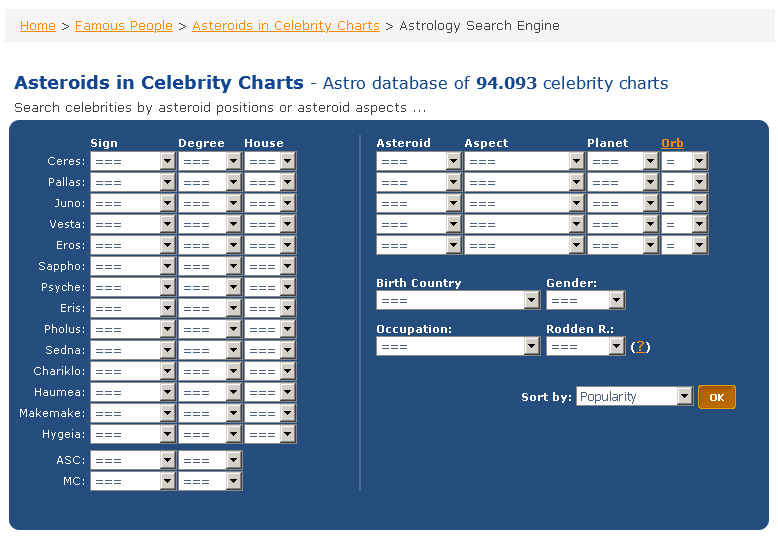 Petr9 Astro Seek Com On Twitter Asteroids In Celebrity Charts New Celebrity Search Engine Is Available On Astro Seek It S Possible To Search Celebrities By Their Asteroid Positions Or Asteroid Aspects Https T Co Qkpqfzpwz1 Https T Co By3deyxbl4