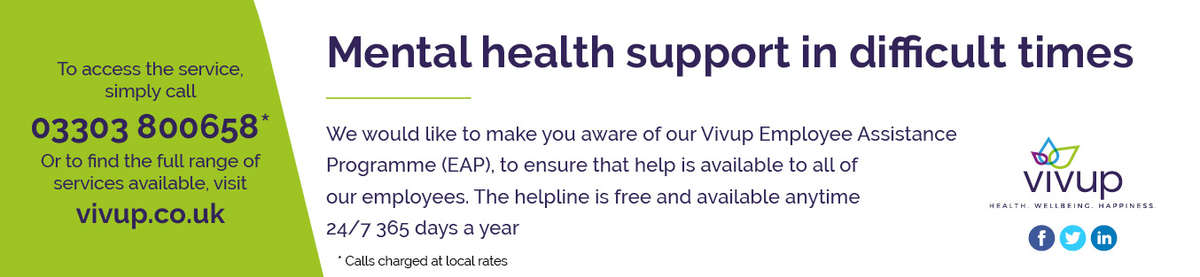 test Twitter Media - Did you know, EAP is not just a service for individuals but you can also access and download CBT workbooks at https://t.co/Sez3HBF4P3 and share with family members who may also need support and for anyone who may wish to seek advice for a fellow staff member in distress can call https://t.co/5fOHxCqnnI