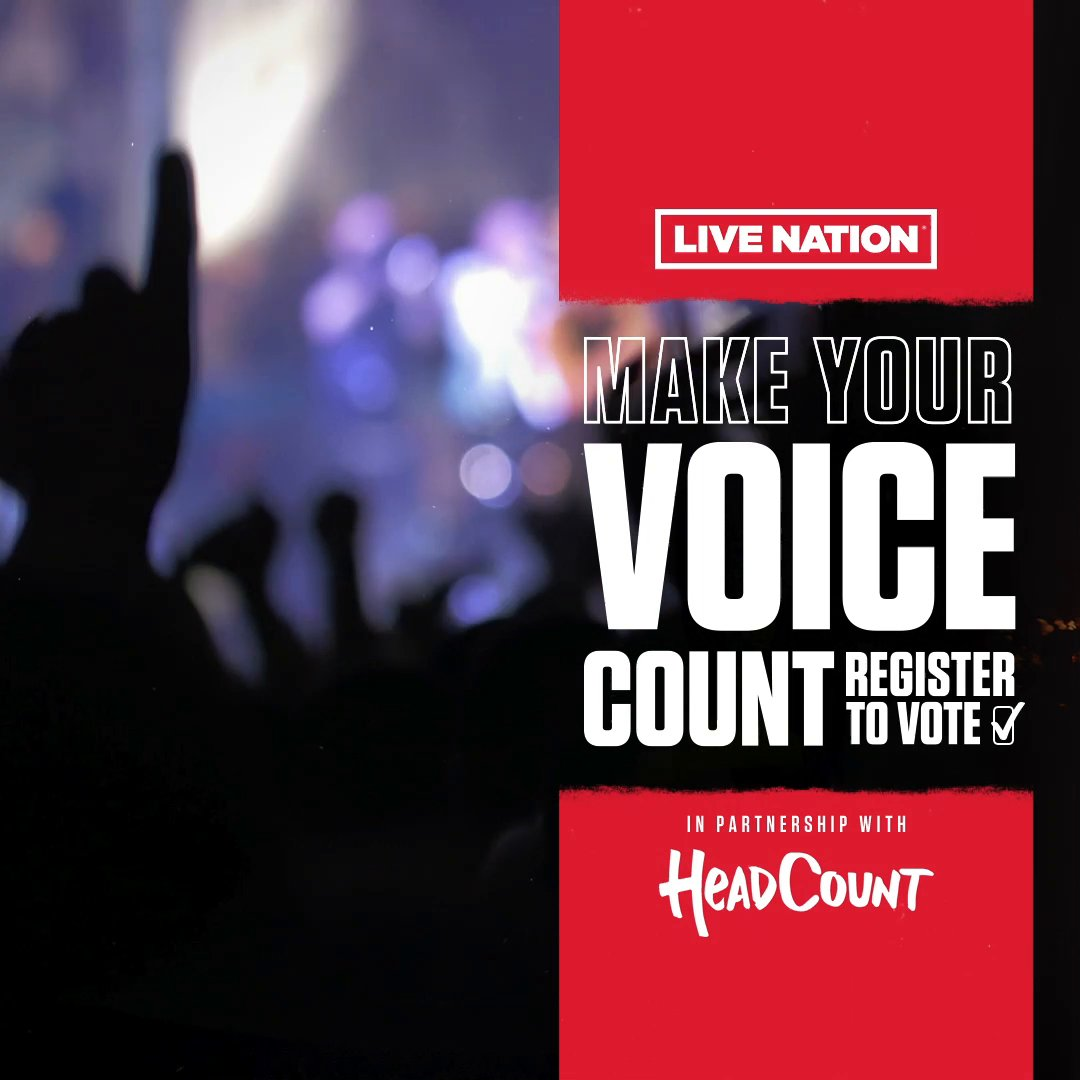 #BigNews 🗣️ 📣 We're partnering with @headcountorg to make your voice count! Watch this and take action now at https://t.co/4ELxvHF2ai #VoteReady #TheFutureIsVoting https://t.co/kWM59BiWJm