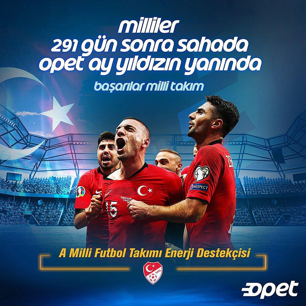 Macaristan ile karşılaşacağımız Uluslar Ligi gruplarının ilk maçında millilerimizin yanındayız. Başarılar milli takım! https://t.co/WtQxwFS4QS