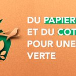 Image for the Tweet beginning: 🌼 ECO RESPONSABLE🍃  Parce que le