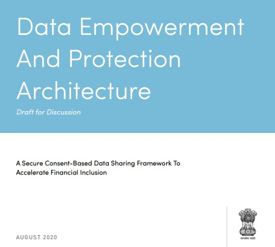 The Data Empowerment & Protection Architecture will empower individuals with control over how their personal data is used & shared while ensuring that privacy considerations are addressed.  Seeking your comments on the draft document, before 1st Oct  🖇️ - https://t.co/Rdux9Xs8V7 https://t.co/Urg5pK5wem