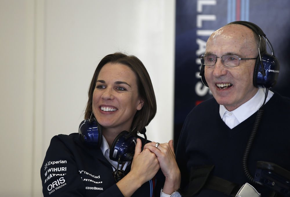 To Claire Williams,  Thank you for showing that little girls can achieve their dreams.   Thank you for showing that women are fantastic leaders.   Thank you for your honesty and integrity.   Thank you. https://t.co/g70VDC5pbH