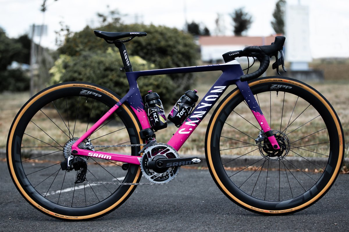 Our new 303S on @WMNcycling's racing machine... https://t.co/P48vXmj31l