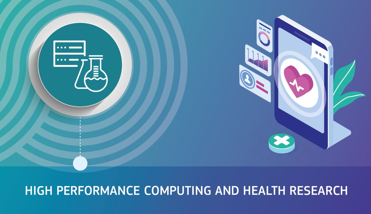 #HPC 💻⚡️ is a crucial technology  ➡️offering new opportunities   ➡️reshaping the way we receive & provide #health services   ➡️addressing complex issues in health #research  Find out more during this #ConnectUniversity 🗓️ 23/09 ⏰ 10-12  https://t.co/98WpRDpmxw  @exscalate4cov https://t.co/vFZn91alNs
