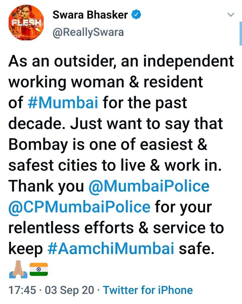 Swara Bhasker (@ReallySwara) | Twitter