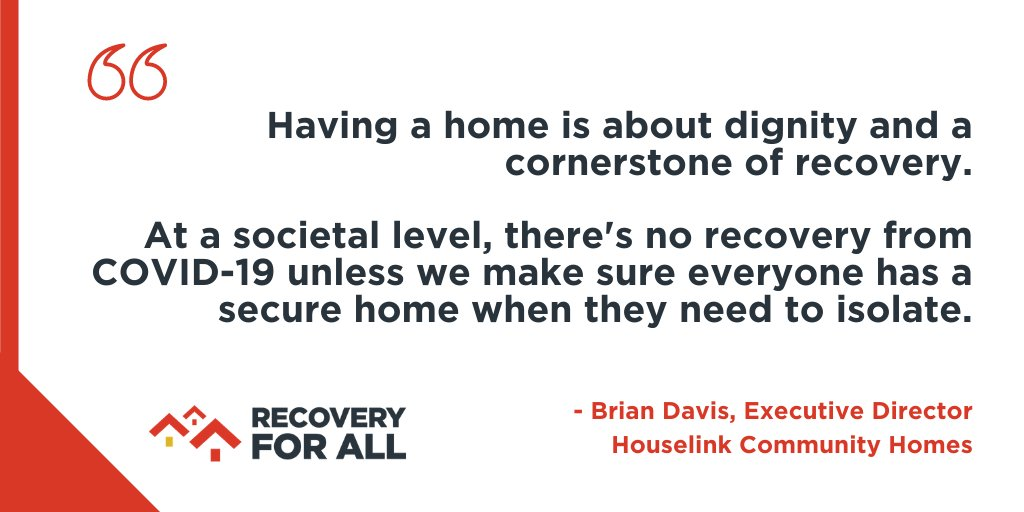 Thousands of people and organizations across the country endorse #RecoveryforAlls plan to #endhomelessness out of #COVID19 like @HouselinkCH. Will you take 5 minutes to endorse our national campaign? Do it here: ed.gr/cssjf