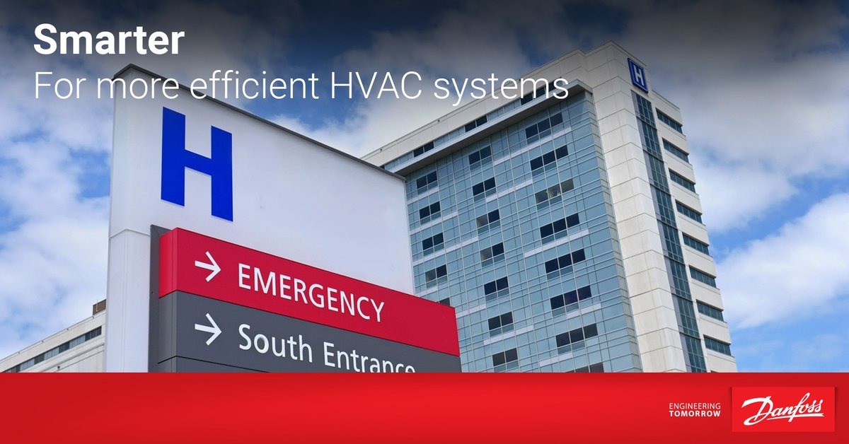 Intelligent #ACdrives in your hospital's #HVAC system are proven to:  ✔ Regulate Indoor Air Quality ✔ Cut down energy consumption by 50%  ✔ Lower EMC interference  Discover more on #IntelligentDrives: https://t.co/aTXgEgO0Tx    #greenrestart #energyefficiency #DrivesAsASensor https://t.co/gaOgI4hggV