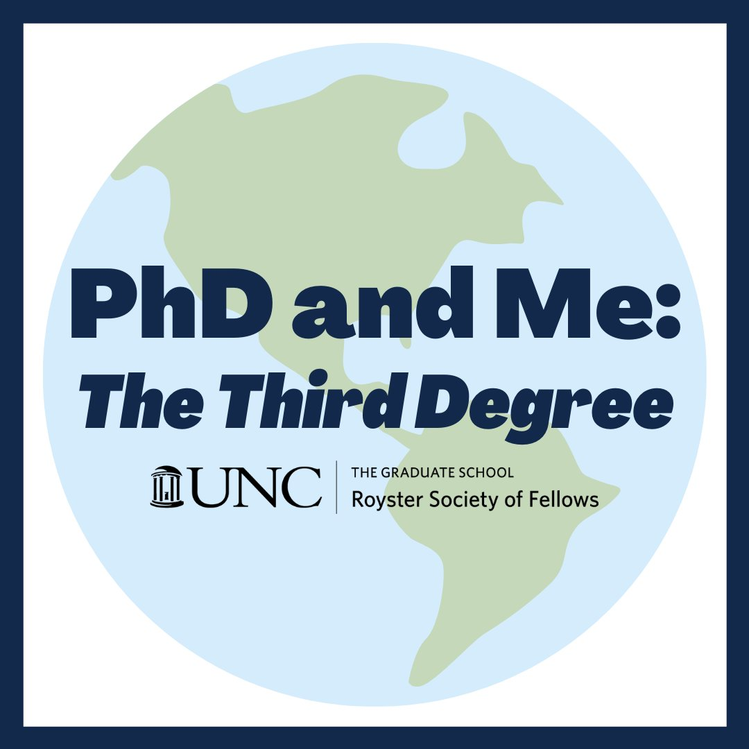 #phdlife #PhD #PodcastRecommendations RT @UNCRoysters Listen to real-life experiences of PhD students from around the world!