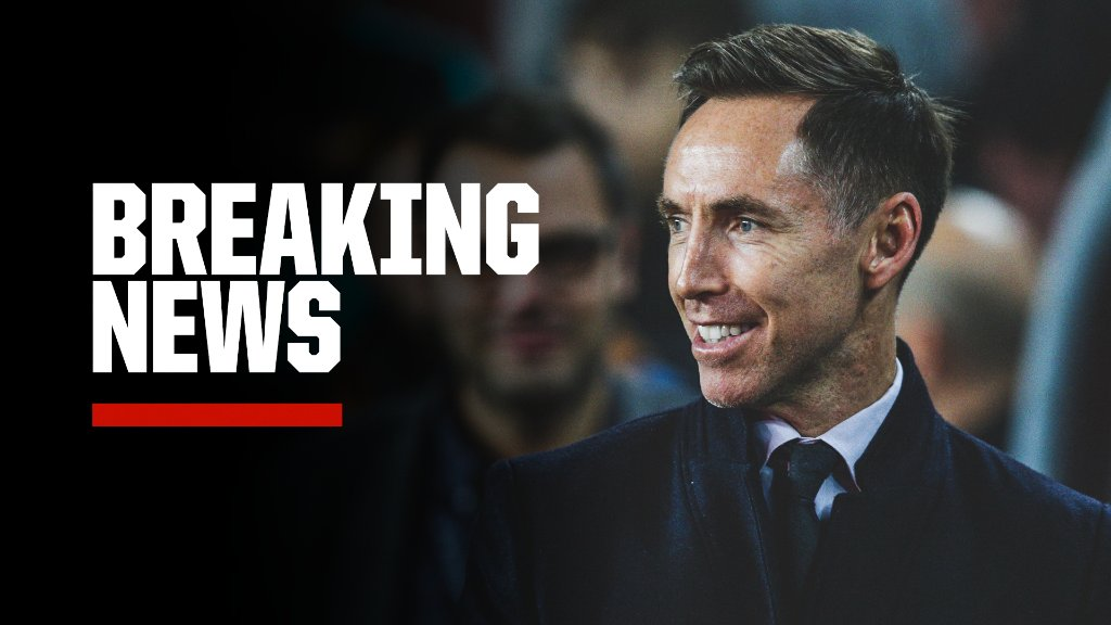 Breaking: Steve Nash has signed a four-year contract to coach the Brooklyn Nets, sources tell @wojespn. https://t.co/VwUmRRcsj3