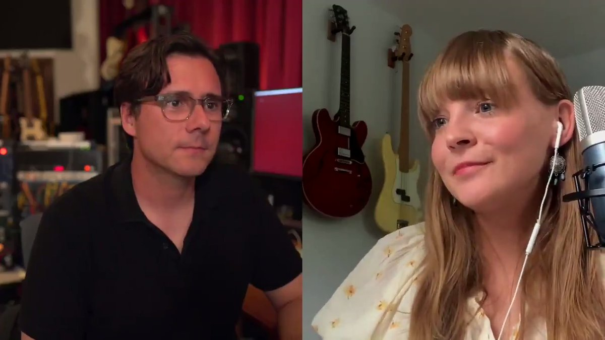 In episode 9 of my podcast, @courtneymamusic virtually stops by to talk about writing and working on her new album, Old Flowers. And some funny things from her time with us touring on Invented. Watch or listen here: https://t.co/aP5fO21wE8  #PassThroughFrequencies https://t.co/Bke9NjperF