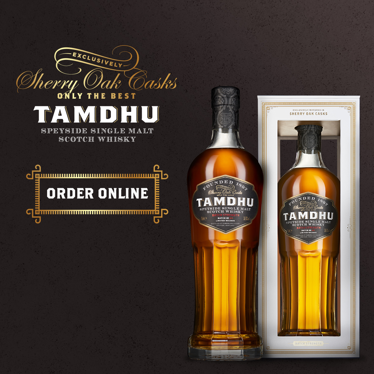 Introducing Tamdhu Batch Strength No. 005, the latest addition to our multi-award winning 'Batch Strength' collection of exquisite single malts.   https://t.co/yDkHwZv5eI https://t.co/P2iCxNjDlB