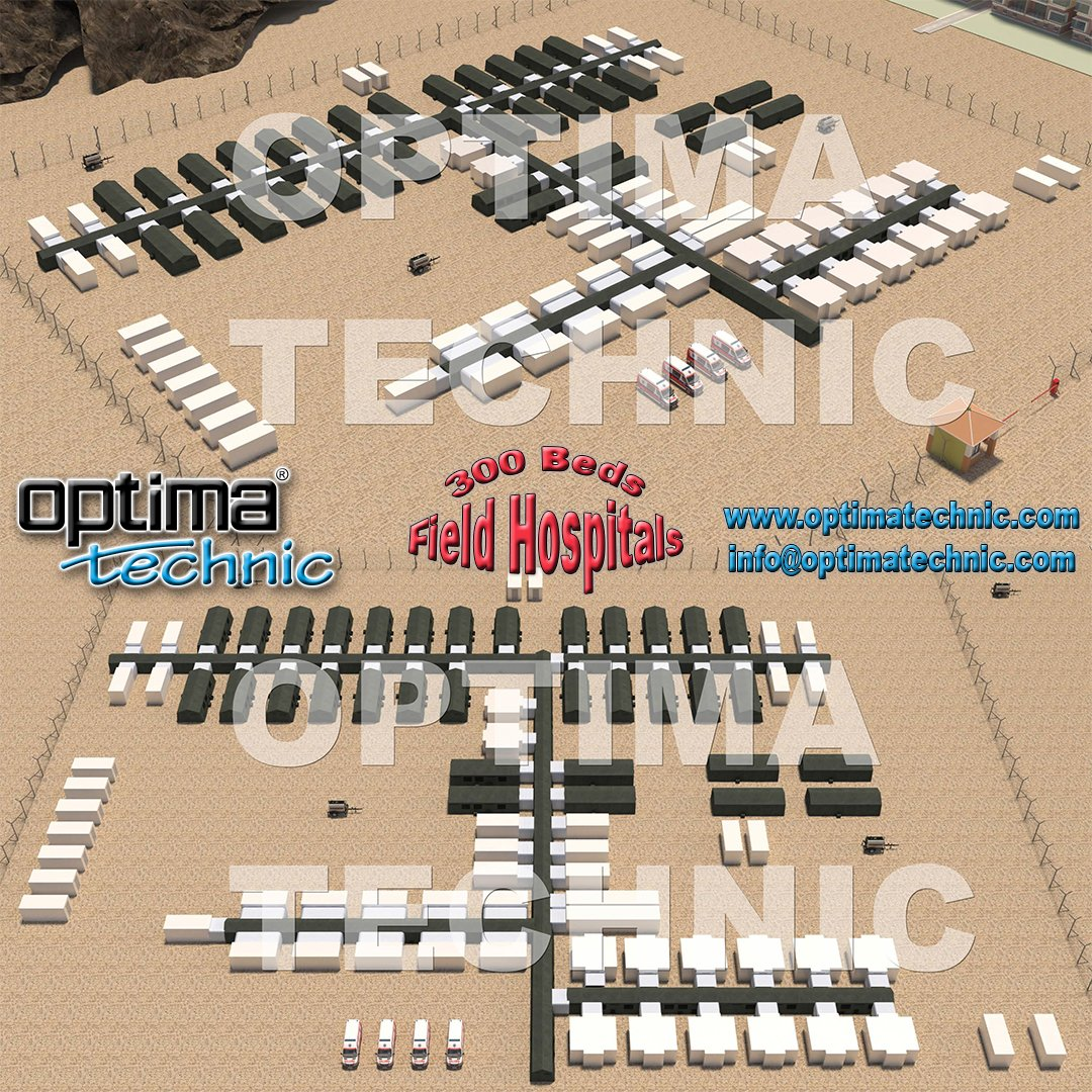 Optima Technic designing and manufacturing Trailer & Ground Based Field Hospitals.   For more information, please contact with us. https://t.co/wfnKNzBriK info@optimatechnic.com  #optimatechnic #mobileclinics #mobilehospitals #fieldhospitals #healthcare #fieldhospital #clinics https://t.co/JByK974SVb